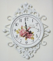 Tieyi rustic art wall clock quieten fashion wall clocks Large