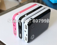 free shipping,4 batteries Fashion version 18650 Mobile power supply box charging for Ipad , Iphone