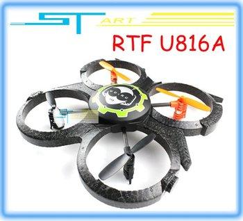UDI Mini quad 3D Fly 2.4Ghz 4CH UFO RTF U816 Upgrade  U816A RC Helicopter  Quadcopter Aircraft   Drop Shipping supernova sale