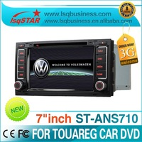 ANS710 Volkswagen touareg car dvd player with gps navigation/bluetooth/raio/usb/mp3/mp4/dvd..hot selling!