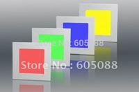 10w 200*200mm ultra slim rgb led panel light, square led ceiling panel lamp,AC100-240v input,CE ROHS,20pcs/lot promotion !