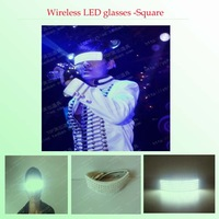 Wireless LED glasses / influx of people to stage essential / performance props / luminous glasses