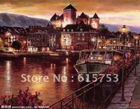 Hand painted landscape oil painting0004