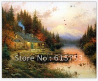 Hand painted landscape oil painting0006