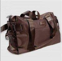 Waterproof nylon  leisure travel single shoulder slope satchel