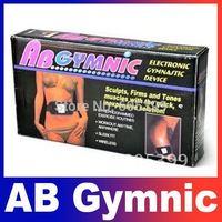 AB Gymnic Electronic Muscle Arm leg Waist Health Body massage Body building Belt Slimming Belt Free Shipping