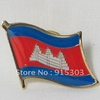 Newest Best Selling Hot Selling High Quality Cambodia Flag Pins