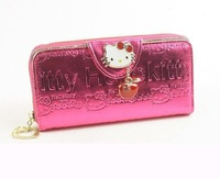 Hello kitty multicolour long design wallet