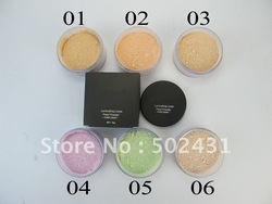 Brand cosmetics lip gloss make up,makeup luminating loose peral powder violet pearl foundation drop shipping(China (Mainland))