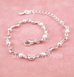 The moon silver bracelet South Korea silver ornament birthday gift shop to supply a substituting(China (Mainland))