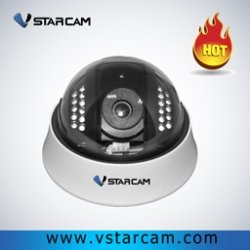Vstarcam H6812IP Wired P2P Security H.264 Compression Dome IP Camera,Support TF Card Slot IR-CUT(China (Mainland))