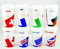 ceramic coffee mug with lid