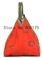 Free shipping! Wholesale 6pcs sequin deltoid handbags bag purse