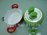 HOT SALE -24CM  CERAMIC SOUP PAN -SOUP TUREEN ---SOURCE  PAN  -COOK WARE -BOTH CAN BE USE ON THE GAS STOVE & INDUCTION COOKER