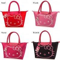 Hot sale! Free shipping, Hello Kitty waterproof totes Cartoon handbag for women Ladies's shopping bag, Retails hand bags
