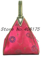 Free shipping! Wholesale 100pcs sequin deltoid handbags bag purse
