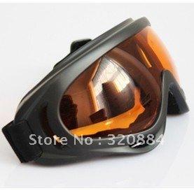 In stock X400 ski glasses&cycling goggles, PC, 100%UVA/UVB protection, ANSI Z87.1 strandard,Orange