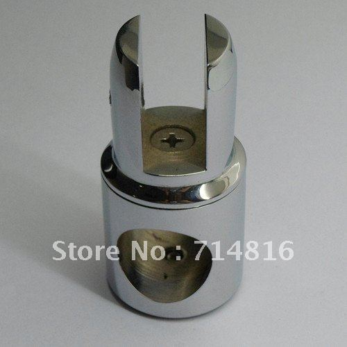 shower glass clamp.shower support tube connector,brass connector(China (Mainland))