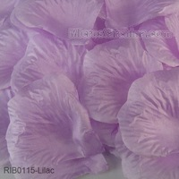 Dropshipping 1000pcs Lilac Light Purple Table Confetti Decoration Party Silk Rose Petals Free Shipping