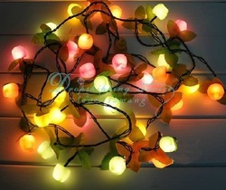 Wholesale Hot Christmas decorative fruit holiday decorations lights(China (Mainland))
