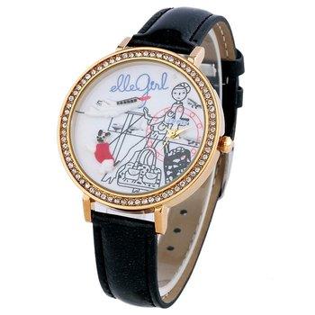 AMUTN_Handmade Clay Watch 3d quartz watch ladies watches dresses new fashion 2013 women cartoon  vintage leather golden time
