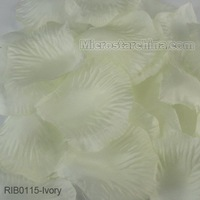 1000pcs Ivory Cream Silk Rose Petals Table Flower Decoration Engagement Wedding Christmas Party Celebrations Free Shipping