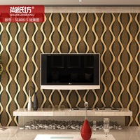 Background wall paper contracted wave stripe sandstone material grains of sand wall paper sitting room wallpaper