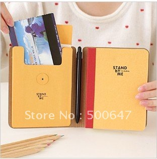 Creative stationery kraft paper bind schedule this business multi-function notebook 22662(China (Mainland))