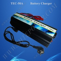 12V50A Battery charger, 190v~250v Input for Lead acid battery and GEL battery CE ROHS Approved