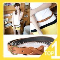 Holiday Sale Holiday Sale vintage copper 8 decoration brief belt slim strap Women all-match fashion Y2703