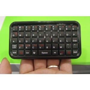 Free shipping Bluetooth Wireless Mini HID keyboard small for for PC Pad Smartphone PS3(China (Mainland))