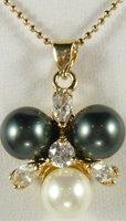 South Seas 10mm diamond multicolour revision sallei pearl pendant gift 17