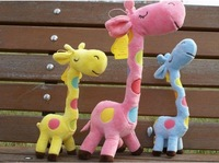 HPP&LGG Brand  The giraffe of Plush toy doll  furnishings decoration for birthday gift