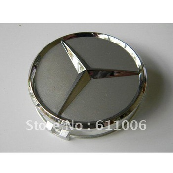 4x 75mm Center Hubcap Hub Cap Caps MB Emblem Wheel Cover for Mercedes Benz Auto Car