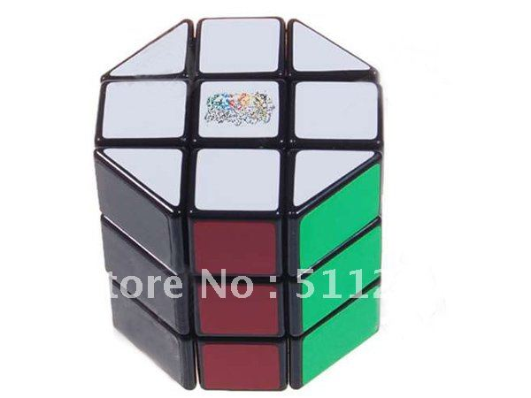 Free shipping best selling Mini Education math toys 3x3x3 Treasure Box Magic IQ Test Cube White(China (Mainland))