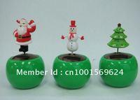 Free shipping by EMS (240pcs/lot)  solar christmas gift solar flip flap toys solar novelty toys