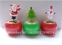 Solar Powered Flip Flap Dancing Christmas Themed Home Garden Ornament Ideal Gift