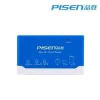 PISEN multifunctional card reader ms tf sd cf card high speed universal card reader