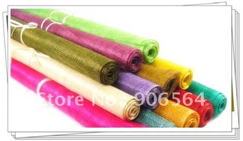Free shipping  8 color selected sinamay material,Nice linen material,Good for making hair accessories/fascinators,300cm/lot