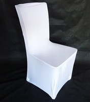 Free shipping  white spandex wedding banquet chair cover