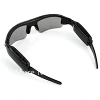 Video Sunglasses Mini HD DV DVR Camera Black