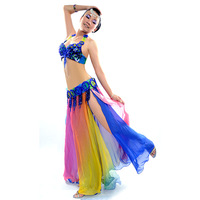 2012 symphony aurora quality belly dance costume set leotard