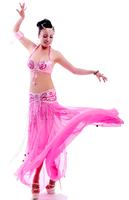 Piece set royal vivid quality belly dance costume set clothes