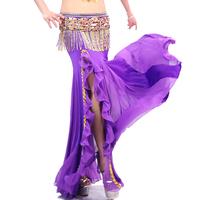 Ruffle placketing slim hip skirt ! belly dance skirt belly dance performance wear bottoms