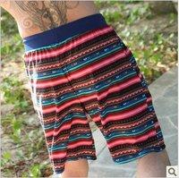 2012 New men couple beach swimwear shorts, cool striped swimming shorts + free shipping