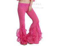 Belly dance trousers pants fish tail yarn pants