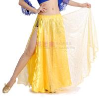 Belly dance skirt personalized elegant double placketing skirt