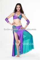 2012 latest professional Belly Dance wear qc2066