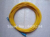 Fiber Optic Patch Cord SC/UPC to SC/UPC Simplex,20 Meters, SM,PVC Cable 1pcs