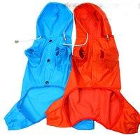 022153  dog rain coat  clothing umbrella  s m l xl   two color
